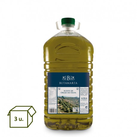 Pomace Olive Oil PET 3L (3un.)