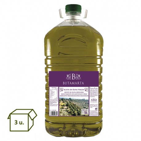 Extra Virgin Olive Oil PET 5L (3un.)